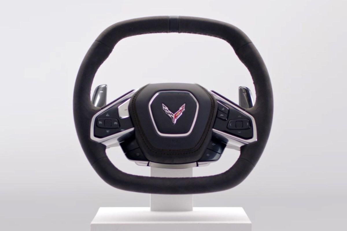 corvette eighth gen steering wheel