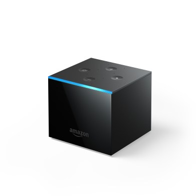 All new Fire TV Cube side