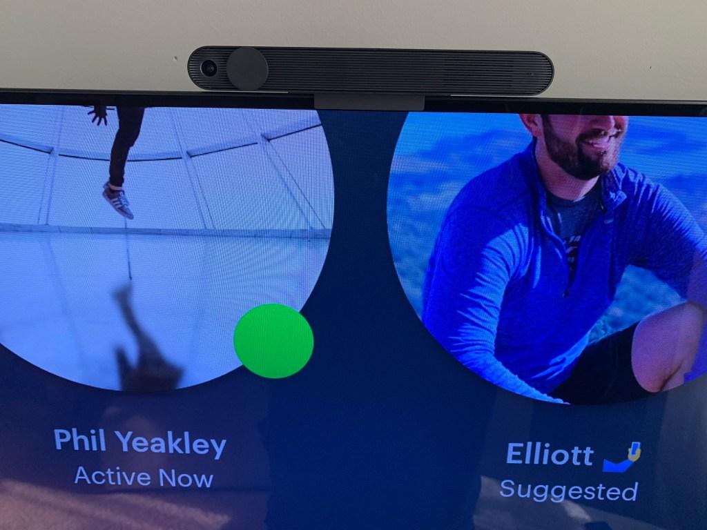Portal TV Closeup