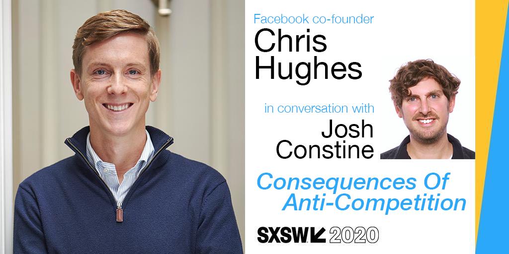 SXSW 2020 hughes constine