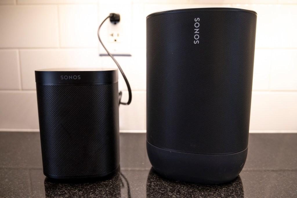 Sonos Move Sonos One 1