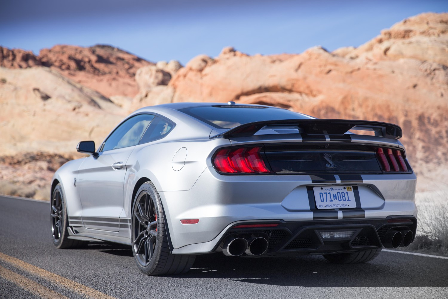 the 2020 ford shelby mustang is a
