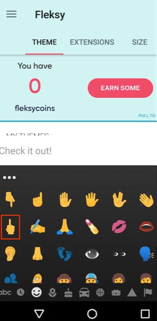 Fleksy Play review emoji violation