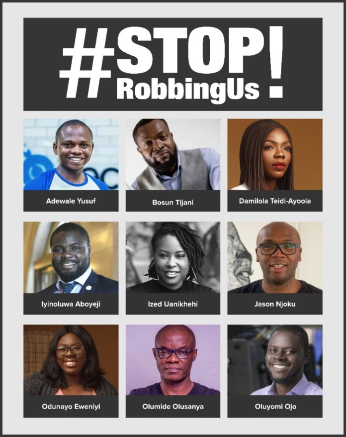 Nigeria's #StopRobbingUs marketing campaign may spur tech advocacy group, CEOs say