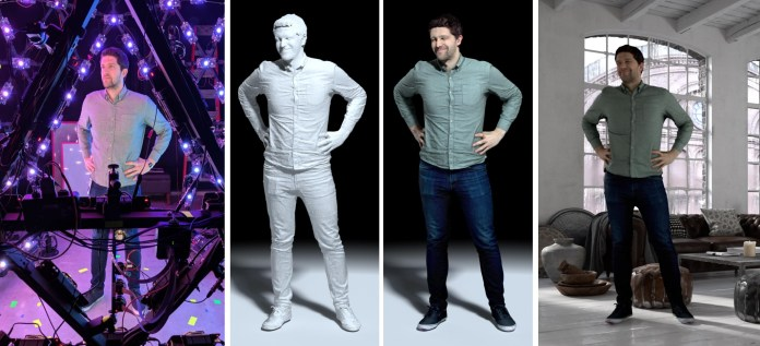 This room-sized LED egg captures amazing 3D models of the people inside it – TechCrunch