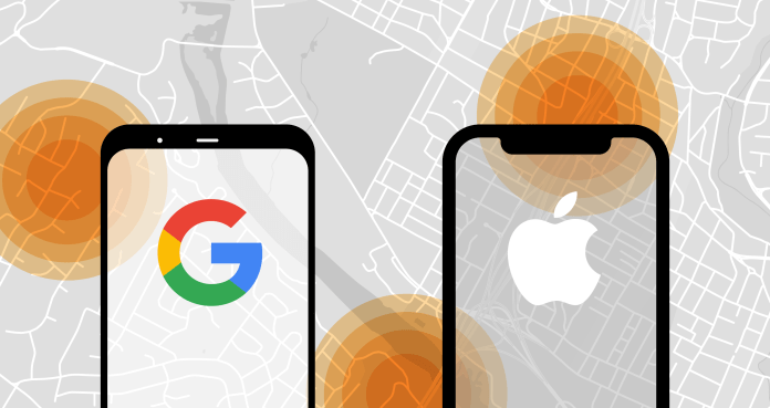 First version of Apple and Google's contact tracing API should be available  to developers next week | TechCrunch