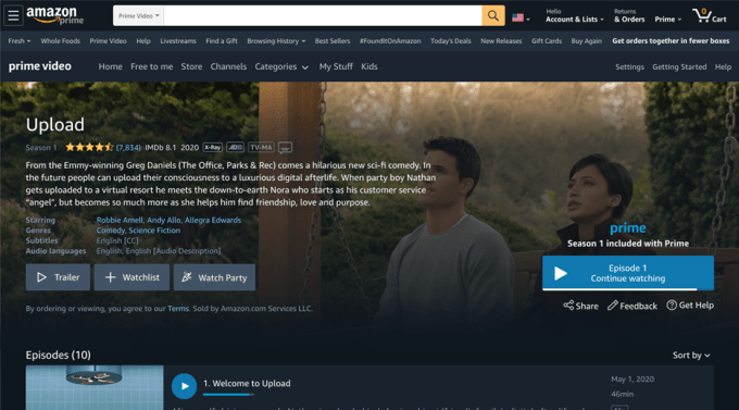 Amazon Prime Video introduces 'Watch Party,' a social co-viewing experience included with Prime unnamed 5