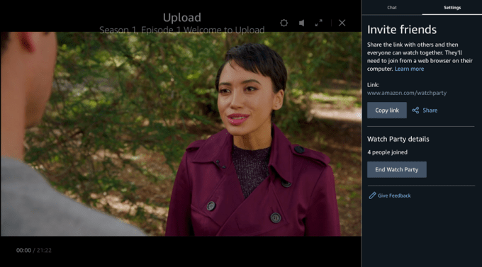 Amazon Prime Video introduces 'Watch Party,' a social co-viewing experience included with Prime unnamed 7