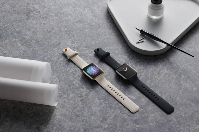 It's not an Apple Watch, it's an Oppo Watch