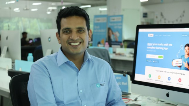 Toppr raises  million to scale its online learning platform in India