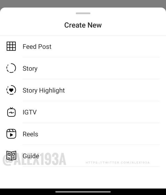 Instagram tests new feature
