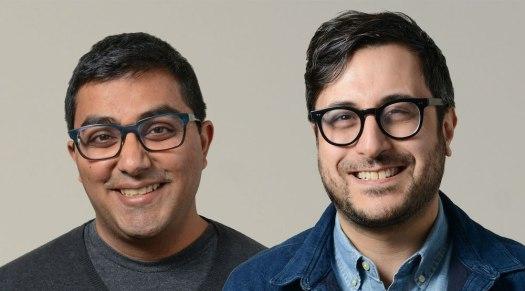 Chartable founders Harish Agarwal and Dave Zohrob