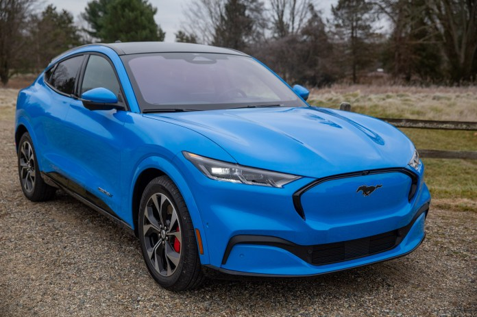 The 2021 Ford Mustang Mach E Disappoints In Our First Drive Techcrunch