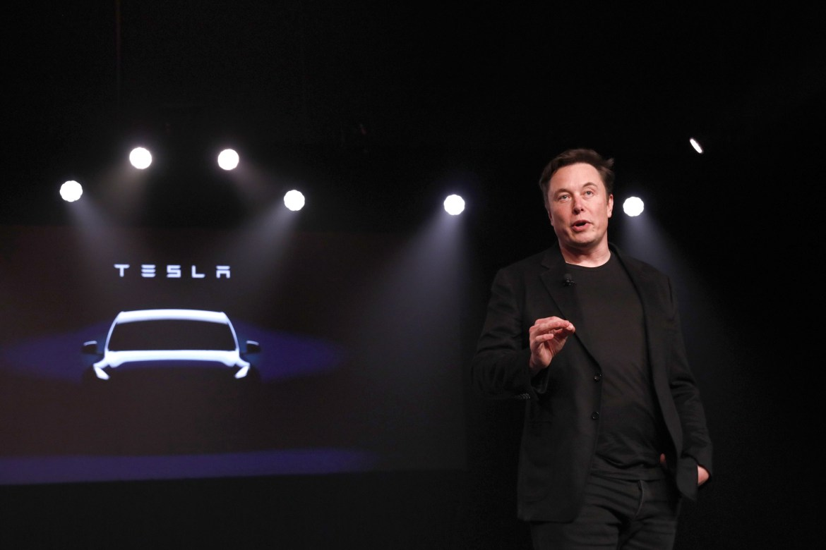 Elon Musk Reveals Tesla Model Y Crossover; To Start At $39,000