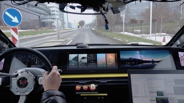 Sony Vision S car CES