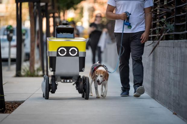 Serve Robotics Uber Postmates