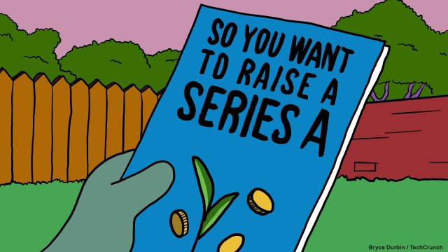 """""""So you want to raise a Series A"""" pamphlet in the style of """"The Simpsons"""""""