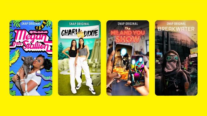 Snap Originals NewFronts 2021 New Slate