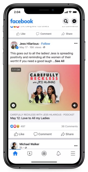 Facebook officially launches Live Audio Rooms and podcasts in the U.S. – TechCrunch 10