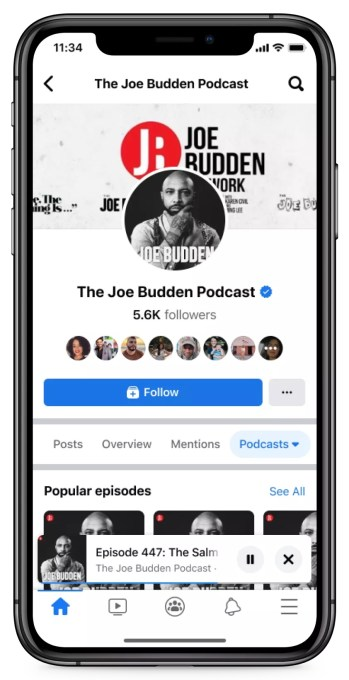 Facebook officially launches Live Audio Rooms and podcasts in the U.S. – TechCrunch 9