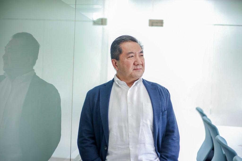 A photo of GudangAda founder and chief executive officer Stevensang