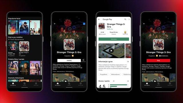 Netflix tests mobile gaming, netflix app, Android Netflix app