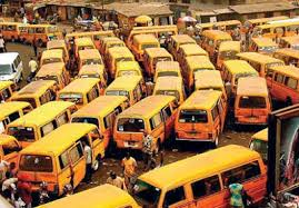 Buses at the Obalende Bus Park
