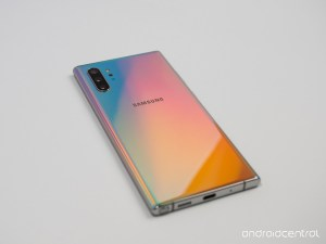 Note 10 Aura Glow color