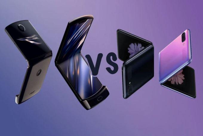 Samsung Z Flip vs Moto Razr