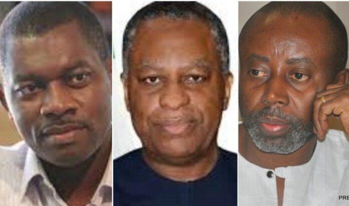 Rudolf Okonkwo, Geoffrey Oyeama and Chido Onumah