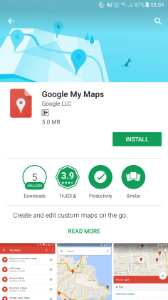 Google My Maps 1
