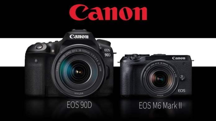 Canon EOS 90D And Canon EOS M6 Mark II