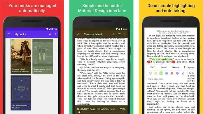 lithium reader - best apps for android