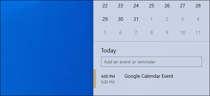 "Calender Events - ""Top 10 Windows 10 Tips And Tricks You Wish You Knew Before"""