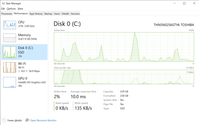 Disk Type And GPU Temp - Windows 10 May 2020 Update (20H1) (1)