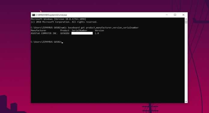 How To Check Your Motherboard With Command Prompt