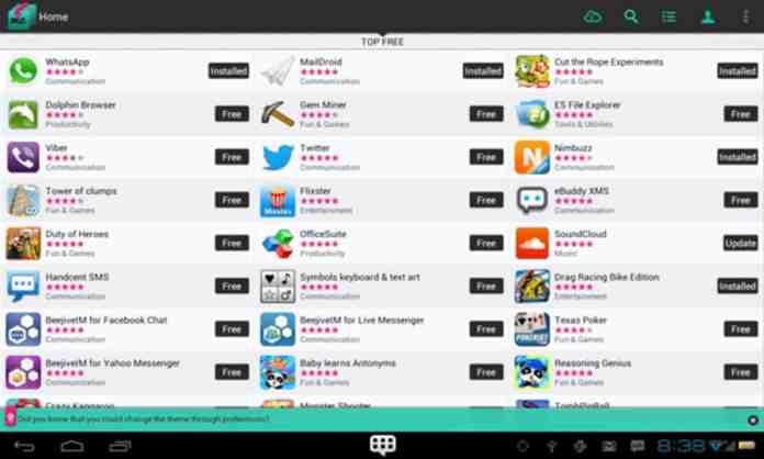 "SlideMe - ""7 best Play store alternatives"""