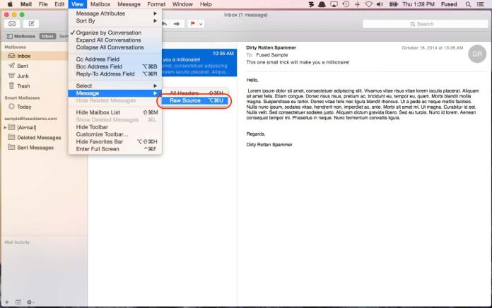 Macbook Email Header - How To Trace An Email Back To Their Source IP Address