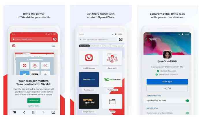 "Vivaldi - ""10 Best Android Apps Worth Checking Out [May 2020]"""