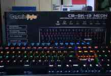Cosmic Byte CB-GK-13 Review. Best mechanical keyboard under Rs.2000