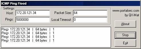 CMP-Ping-Flood-Software
