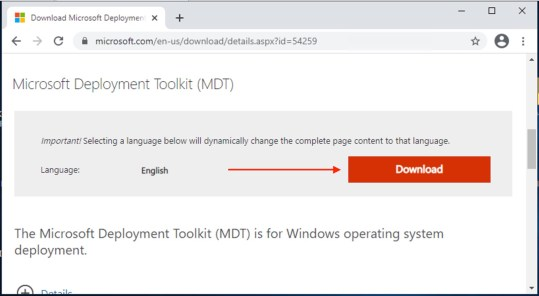MDT-Download