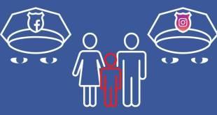 تطبيق Facebook و Instagram سياسةالمستخدمين تحت سن 13