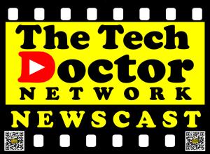 The Tech Doctor Newscast Logo