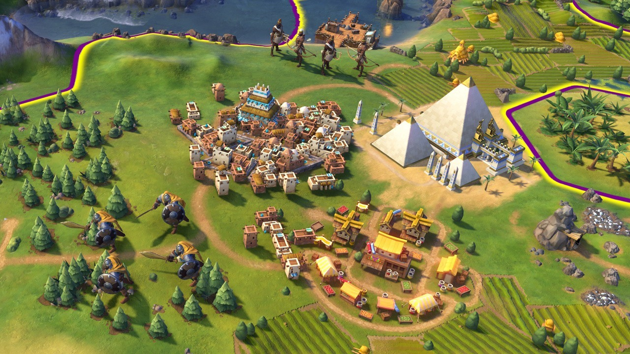 Civ VI targets religion with fall update