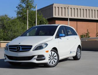 2014 Mercedes-Benz B-Class Electric Car: 87 Miles Range, 84 MPGe