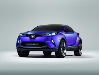 Toyota C-HR Concept: A Hybrid Crossover For Smart Drivers