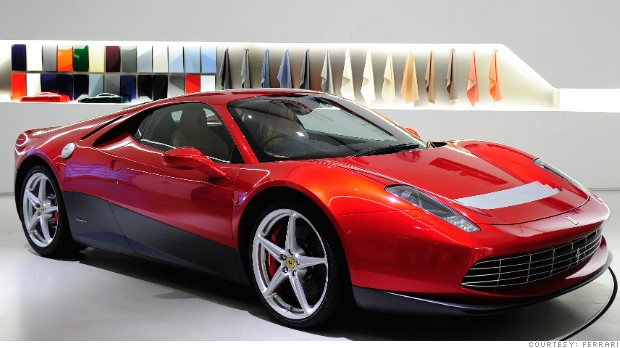 ONE OFF SP12EC SHOWROOM 26-10-2011 ph.luca toni/lapresse 2011© Ferrari S.p.A.