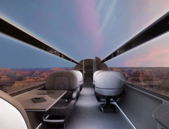 Windowless Planes Could Be Here In 10 Years