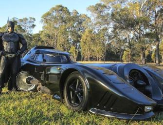 Man Builds Batmobile & Becomes Real Life Superhero